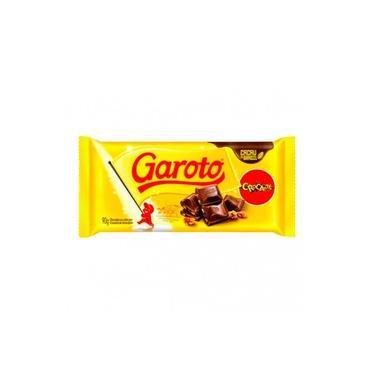 Chocolate Garoto Crocante 90g