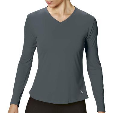 Camiseta AF Repelente UV, Lupo Sport, Feminino, Grafite, M