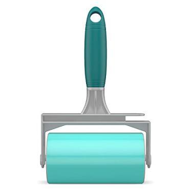 Imagem de Rolo Adesivo Lavável para Remover pelos Fiapos e poeira, FLP6497, Flash Limp