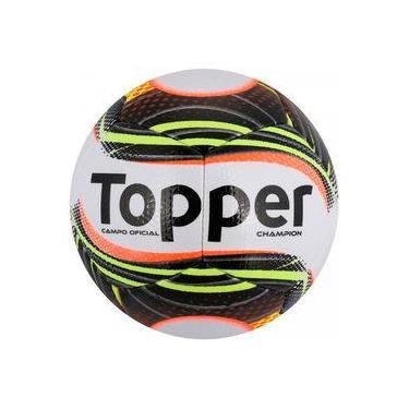 Bola de Futebol de Campo Topper Champion - Branco e Preto 1ae2e3380f5b7