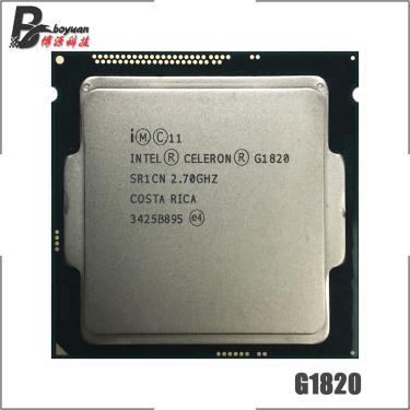 Imagem de Intel Celeron Processador, Processador de 2.7 GHz Dual-Core CPU 2M 53W LGA 1150 da Intel Celeron