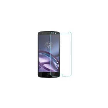Capa Flexível + Película De Vidro Moto Z Play Xt1635
