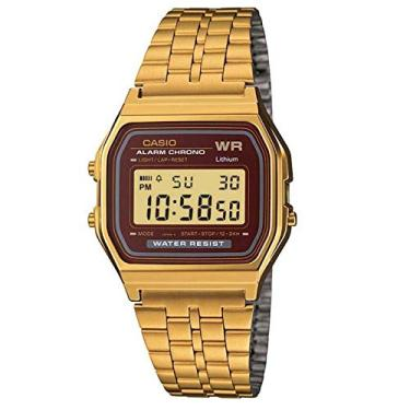 04e3bbf3356 Relógio Casio Digital Vintage A159wgea-5df + Calendário