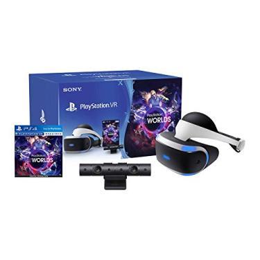Óculos Playstation VR Bundle Worlds ZVR2