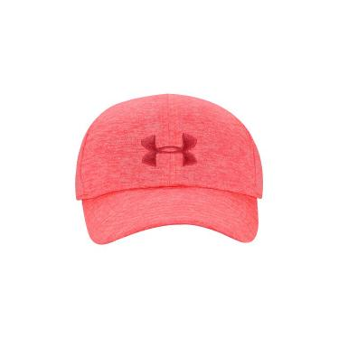 Boné Aba Curva Under Armour Twisted Renegade - Strapback - Feminino - ROSA  Under Armour 762552ea18a