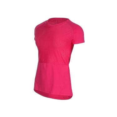 Speedo Camiseta Flores, GG, Rosa