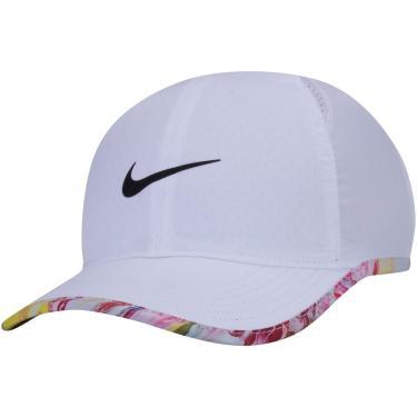 Boné de Aba Curva Nike Dri-Fit Featherlight Seasonal - Strapback - Infantil Nike Unissex