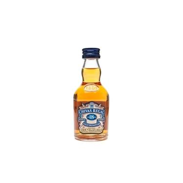 Whisky Chivas Regal 18 anos 50ml