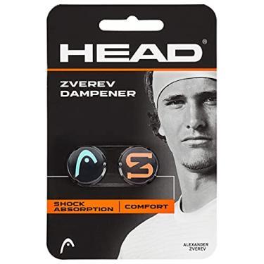 HEAD Amortecedor de vibração para raquete de tênis Zverev – Amortecedor de corda de raquete