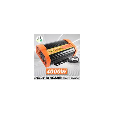 Inversor de energia solar 8000W pico modificado conversor de onda senoidal DC12V para AC220V