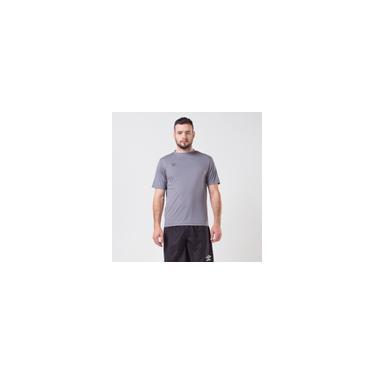 Imagem de Camiseta umbro twr striker cinza masculina