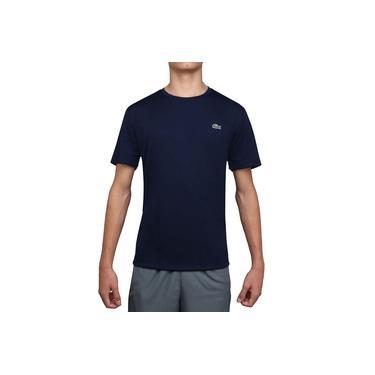 Imagem de Camiseta Lacoste TH1563 Tennis Training Marinho