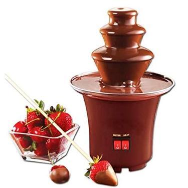 Imagem de Mini Cascata Fonte De Chocolate Panela Fondue Eletrica - 110v
