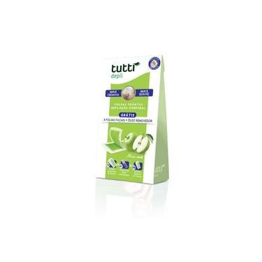 Imagem de Tutti Depil Folhas Prontas Facial Maça 9 Pares Premium