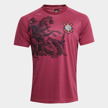 73bc481c75 Camisa Corinthians São Jorge Edição Limitada C  Patch Masculina - Masculino