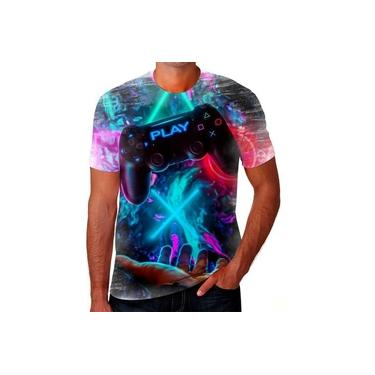 Camiseta Camisa Game Controle X Box Playstation Ps4 Ps2 Hd 4
