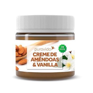 Imagem de Creme de Amêndoas e Vanilla, Zero Açucar, Puravida