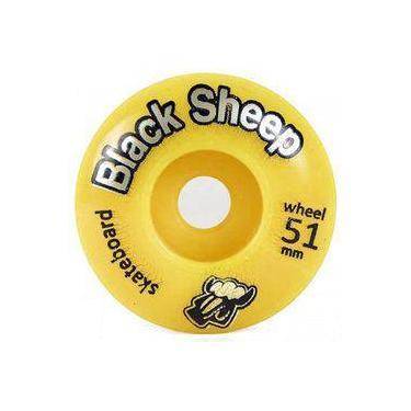 Imagem de Roda Black Sheep 51mm Amarela
