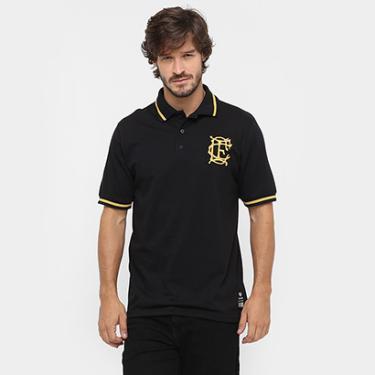 Camisa Polo Corinthian-Casuals Retrô Ouro Masculina - Masculino e888a9c7c1225