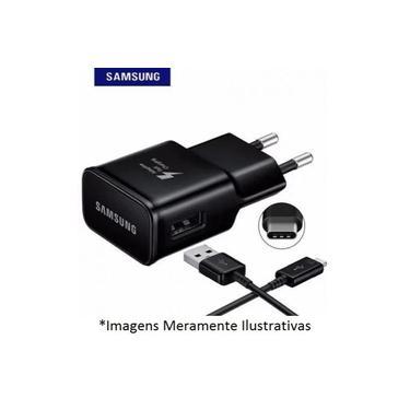 Carregador Samsung para Smartphone Galaxy A8 PRETO - TIPO C