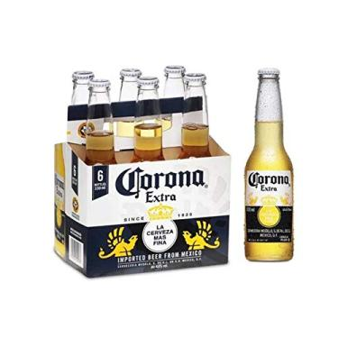 Cerveja Coronita Lager Corona Extra Clássica 6 Garrafas