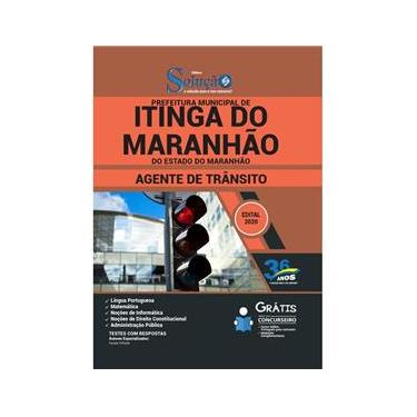 Imagem de Apostila Prefeitura Itinga Do Maranhão Ma Agente De Trânsito