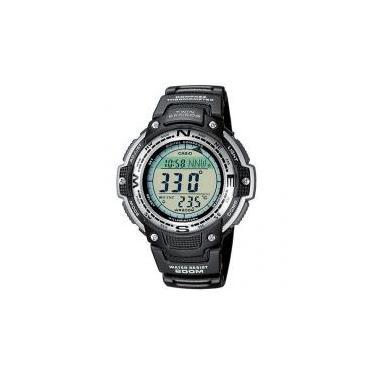 5ab42eb642a Relógio Masculino Casio SGW-100-1VDF Digital - Resistente à Arranhões com  Cronógrafo e Bússola