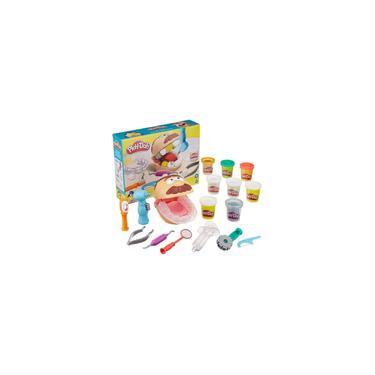 Imagem de Massinha Kit Play Doh Brincando De Dentista Da Hasbro F1259
