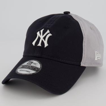 Boné New Era MLB New York Yankees 920 Marinho e Cinza