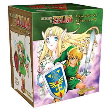 The Legend of Zelda Box Set - Capa Comum - 9781421542423