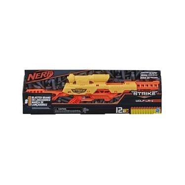 Lançador Nerf Alpha Strike Wolf - Hasbro E7568