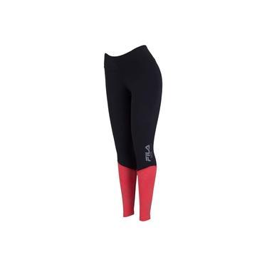 Calça Legging Fila Compress Fit Reflex - Feminina