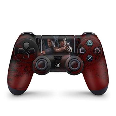 Skin Adesivo para PS4 Controle - Uncharted Lost Legacy