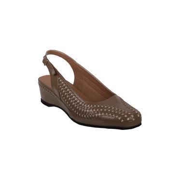 Sapato Feminino Marinucci Sb15 Marfim/Castor