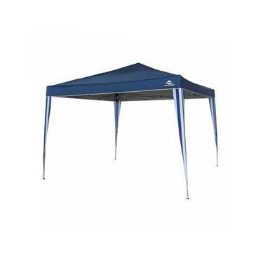 Gazebo articulado Guepardo de 3m x 3m com proteção solar UV 60+ - Pratiko Azul