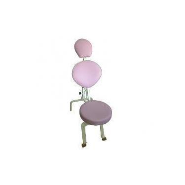 Cadeira De Maquiagem E Design De Sobrancelhas Lilás