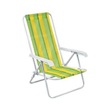 Cadeira de Praia 4 Posições 002004 Mor