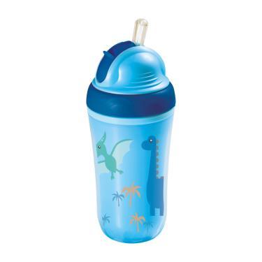 Copo Térmico Com Canudo De Silicone Cool Azul 24M+ Multikids Baby - BB034 BB034