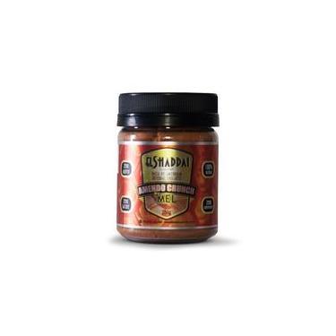 Amendo Crunch Mel - Pasta de Amendoim Integral Crocante com Mel 250g - El Shaddai Gourmet