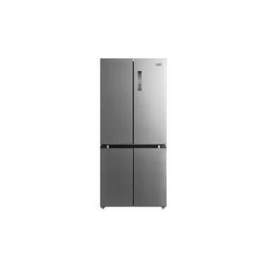 Geladeira Frost Free Midea Multidoor com 4 Portas 482L Inox RS556F
