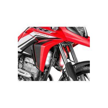 Farol De Milha Led 18w Drl Moto Honda Xre300 (par)