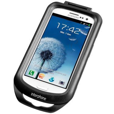 c778807ac49 Case Suporte Smartphone Samsung Galaxy S3 p  Guidão de Moto Interphone