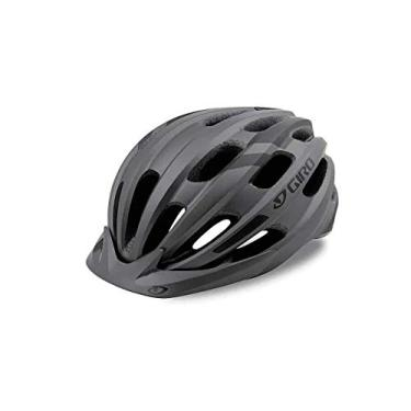 Capacete Ciclismo Bike Giro Register Original C/Viseira Cinza Fosco 54-61 cm