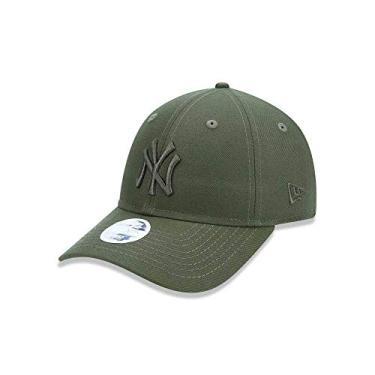 b6c3fd0291e79 BONE 920 NEW YORK YANKEES MLB ABA CURVA VERDE NEW ERA