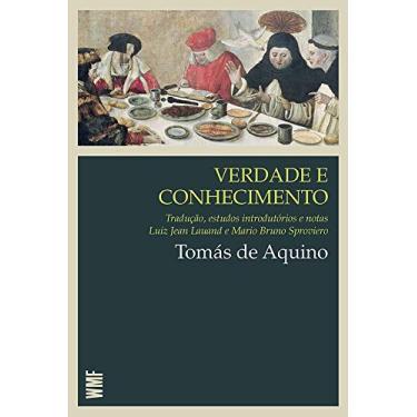 Verdade e Conhecimento - Tomas De Aquino - 9788578274245