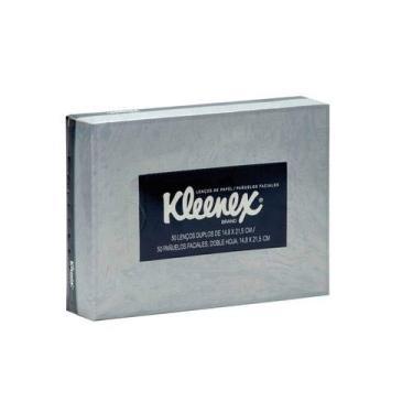 Lenço de Papel Kleenex 50 unidades [PRODUTO TESTE - NÃO COMPRE]