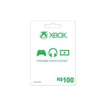 Microsoft Cartão Live Presente Xbox K4w-03106