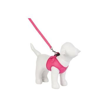 Peitoral Urban Puppy para Cães Colete Aerado Pink - Tamanho P