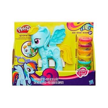 Imagem de Conjunto Playdoh My Little Pony Pônei E Penteados - Hasbro