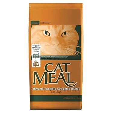 Ração Cat Meal para Gatos Sabor Carne, Peixe e Vegetais 25kg
